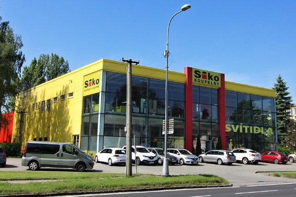 Montované haly pro nákupní centra a prodejny