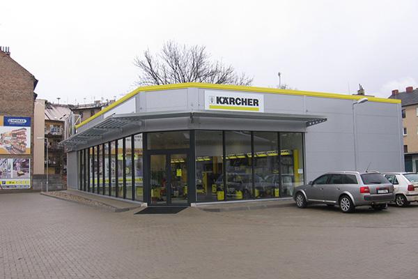 Prodejna čistící techniky KÄRCHER Kolín