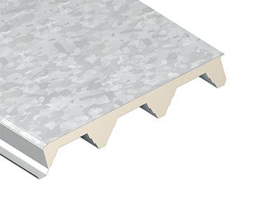 Hluboký střešní panel s PVC fólií