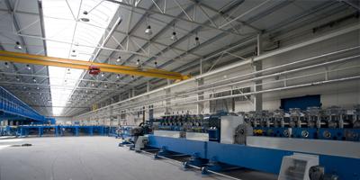 Montované výrobní haly